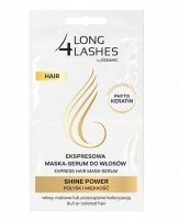 AA Long 4 Lashes, maska-serum do włosów Shine Power, połysk i miękkość, 2x6ml