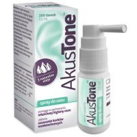 Akustone, spray do uszu, 15ml