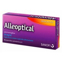 Alleoptical 20mg/ml, krople do oczu, 10 ampułek
