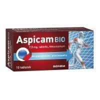 Aspicam Bio 7,5mg, 10 tabletek