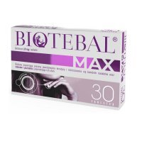 Biotebal Max 10 mg, 30 tabletek