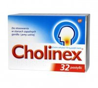 Cholinex 150mg, 32 pastylki do ssania