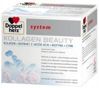 Doppelherz System Kollagen Beauty, 30 ampułek x 25ml