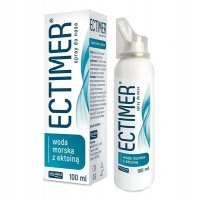 Ectimer, spray do nosa z wodą morską i ektoiną, 100ml