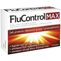 FluControl Max (650mg+10mg+4mg), 10 tabletek