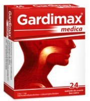 Gardimax Medica (5mg+1mg), 24 tabletki do ssania