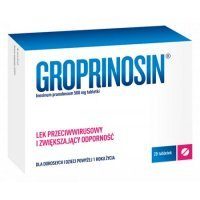 Groprinosin 500mg, 20 tabletek