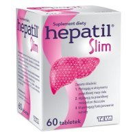 Hepatil Slim, 60 tabletek