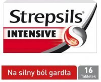 Strepsils Intensive 8,75mg, 16 tabletek