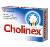 Cholinex 150mg, 16 pastylek do ssania