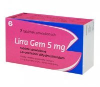 Lirra Gem 5mg, 7 tabletek