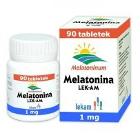 Melatonina 1mg, 90 tabletek