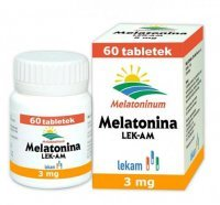 Melatonina 3 mg, 60 tabletek
