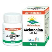 Melatonina 5mg, na sen, 30 tabletek