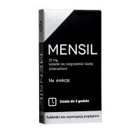 Mensil 25 mg, 8 tabletek do żucia