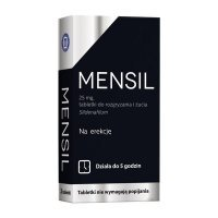 Mensil 25mg, 2 tabletki do żucia