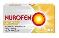 Nurofen Ultima (200mg+500mg), 12 tabletek