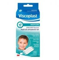 Paski Steri-Strip VISCOPLAST, do zamykania ran, 6x75 mm, 1 listek