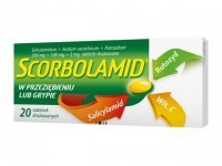 Scorbolamid (300mg+5mg+100mg), 20 tabletek