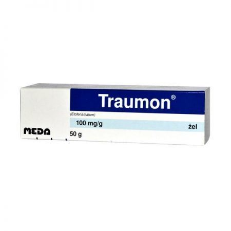 Traumon 100mg/g, żel, 50g