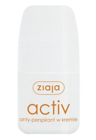 Ziaja, antyperspirant roll-on, ACTIV, 60ml